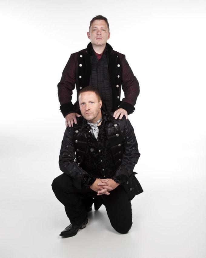 Jan Schüssler og Kjetil Strandabø
